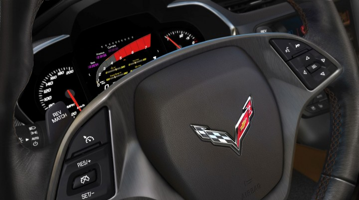 2014 Chevrolet Corvette Stingray Interior