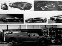 2014 Corvette Stingray - Design Sketches