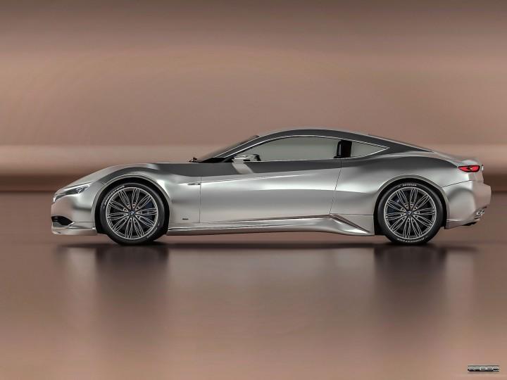 BMW M9 Concept Car Body Design