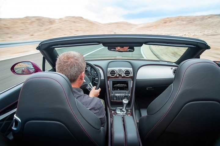 Bentley Continental GT Speed Convertible Interior
