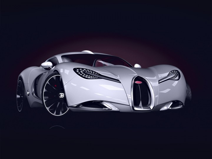 Different bugatti models