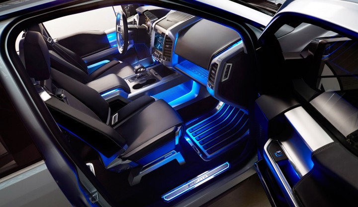 Ford Atlas Concept Interior