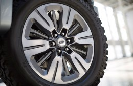 Ford Atlas Concept Wheel Active Shutters Open