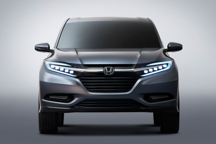 Based on Honda's center-tank layout, the Urban SUV Concept has a