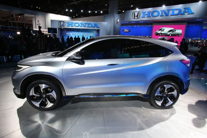 Honda urban suv concept car body design for Honda large suv