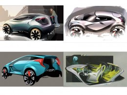 Hyundai Curb Concept - Design Sketches