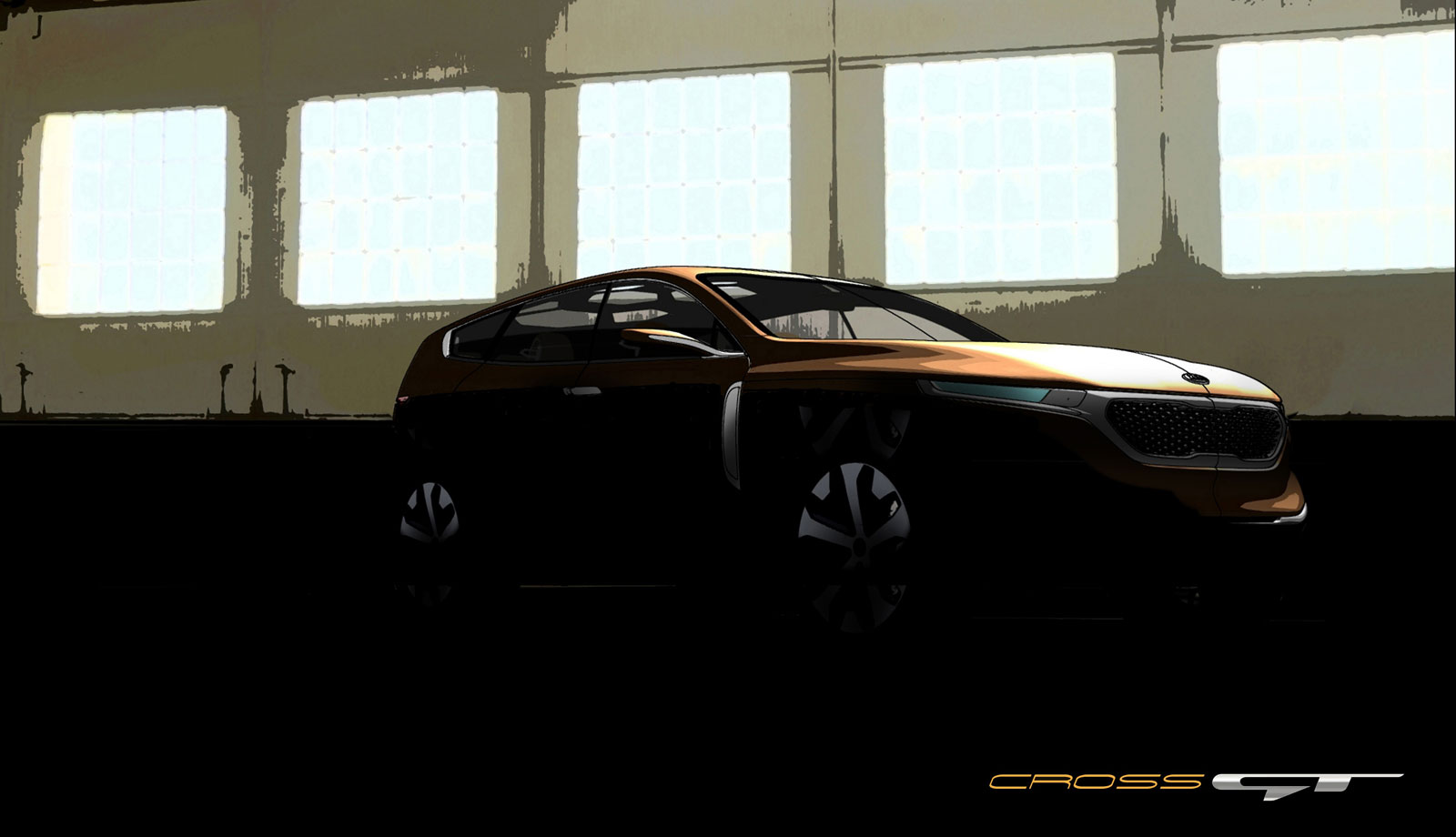 Kia Cross GT Concept preview