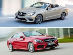 Mercedes-Benz E-Class Coupé and Cabriolet restyled