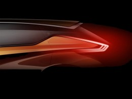 Nissan Resonance Concept preview design sketch