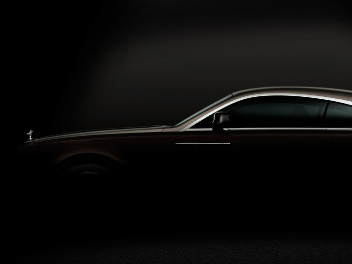 Rolls-Royce Wraith: first image