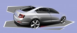 Skoda Octavia - Design Sketch