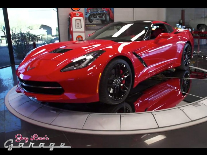 Video: Jay Leno and Ed Welburn on the Corvette Stingray