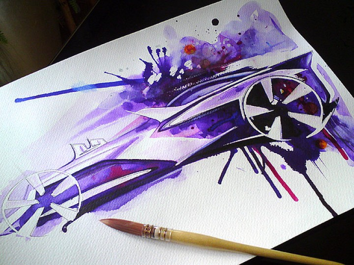 Concept Car Sketch Jam – Making Of