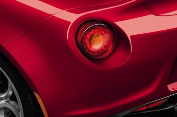 Alfa Romeo 4C - Tail lamp detail