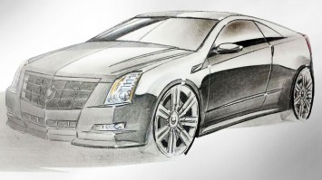 Cadillac CTS Coupe by Nicolas Pariano