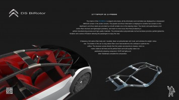 Citroen DS BiRotor Concept-Design Board