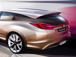 Honda Civic Wagon Concept - Design Sketch detail