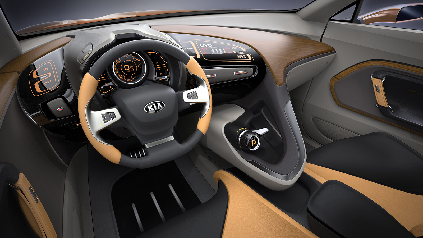 Kia Cross GT Concept Interior
