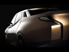 Mitsubishi teases hybrid and electric concepts