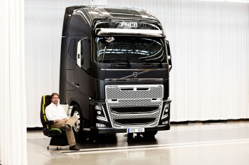Rikard Orell, Design Director, Volvo Trucks and the new FH
