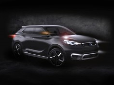 Ssangyong SIV-1 Concept preview