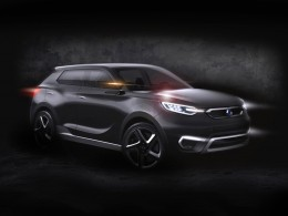 Ssangyong SIV-1 Concept rendering