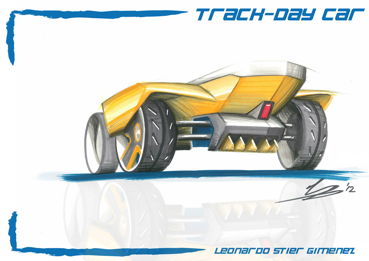 Track Day Car by Leonardo Stier Gimenez