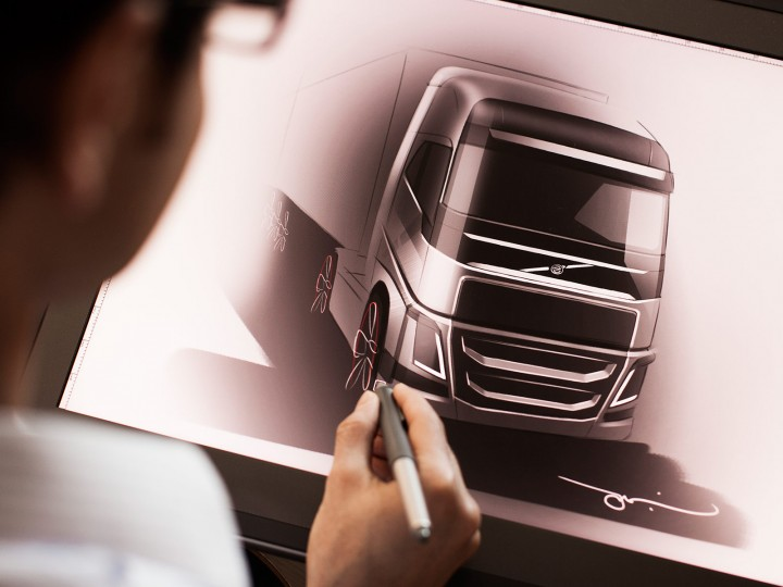 Volvo FH truck: design story