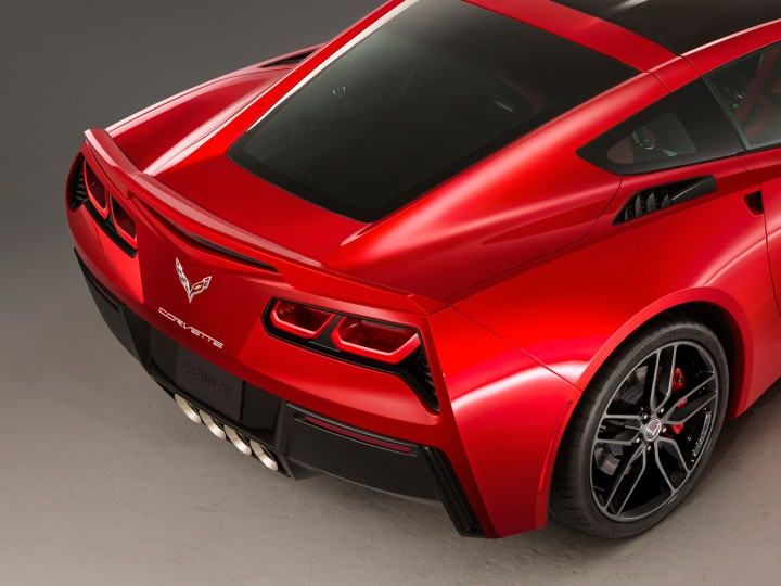 GM Design Director Tom Peters on the Corvette Stingray tail lights