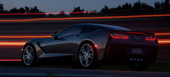 2014 Chevrolet Corvette Stingray rear end