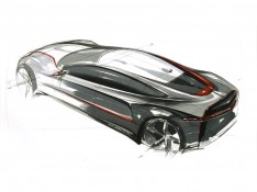 Bird-Eye-View-Car-Design-Sketch