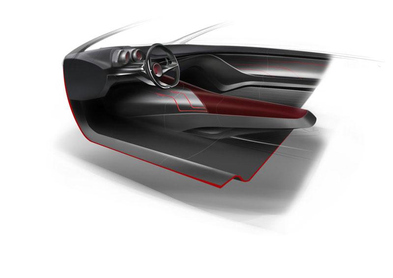 Ied alfa romeo gloria concept interior design sketch car for Ied interior design