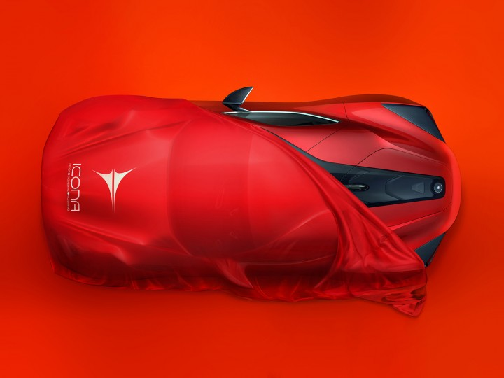Icona previews Vulcano supercar