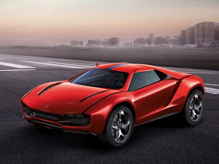 Italdesign Parcour Concept Car Body Design