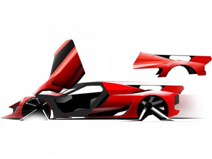 Laferrari Design Sketches And Details Car Body Design