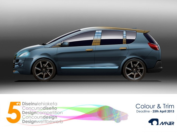 Maier Color & Trim car design competition 2013