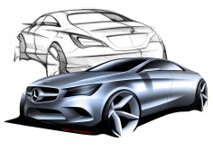 Mercedes-Benz CLA-Class: design gallery
