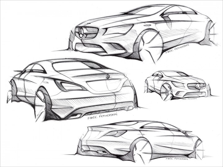 Mercedes-Benz CLA-Class Design Gallery - Car Body Design