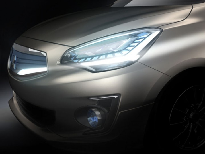 Mitsubishi G4 sedan concept preview