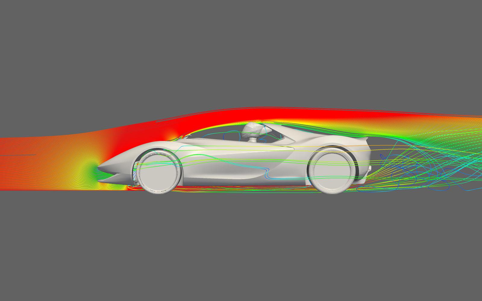 Pininfarina Sergio Concept Aerodynamics Car Body Design