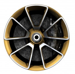 Pininfarina Sergio Concept - Wheel Design Sketch
