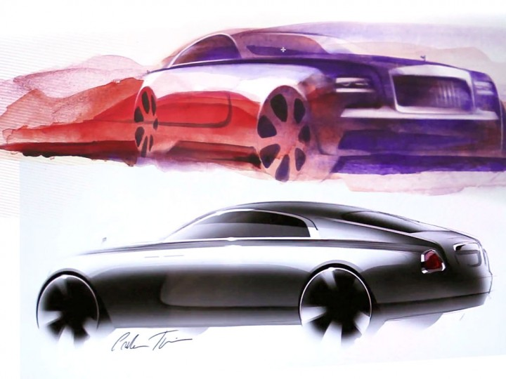 Rolls-Royce Wraith: design videos