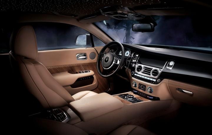 Rolls Royce Wraith Car Body Design