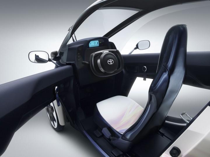 toyota i road concept car body design. Black Bedroom Furniture Sets. Home Design Ideas