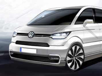 Volkswagen e-Co-Motion Concept preview