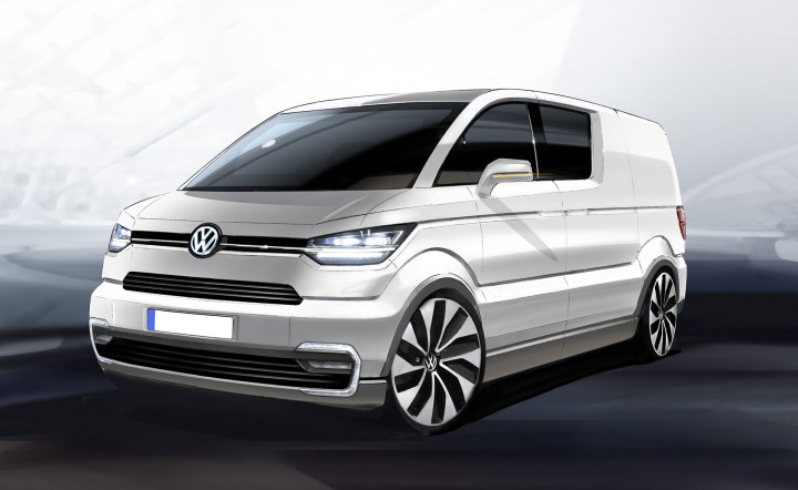 Volkswagen e-Co-Motion Concept - Design Sketch