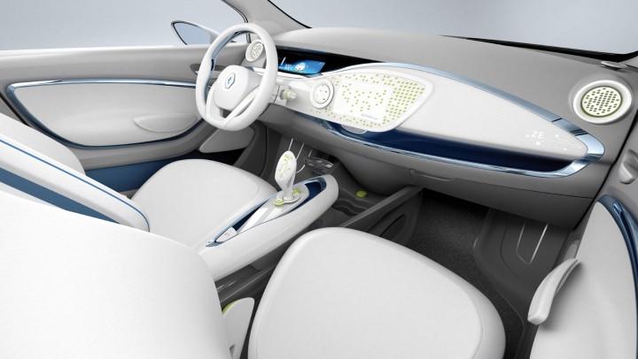 Renault zoe design story car body design for Interieur zoe