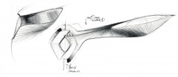 2010 Renault ZOE Concept Interior Design Sketches