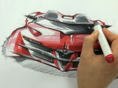 Alfa-Romeo-Concept-Car-Sketching-by-Sangwon-Seok