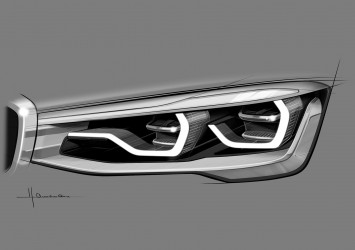 BMW Concept X4 Design Sketch